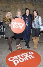 SADIE FROST at 2015 Sleep Out for Centrepoint at The Old Truman Brewery in London 11/12/2015