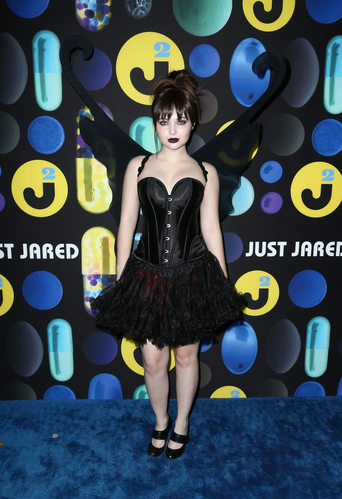 SAMMI HANRATY at Just Jared Halloween Party in Hollywood 10/31/2015