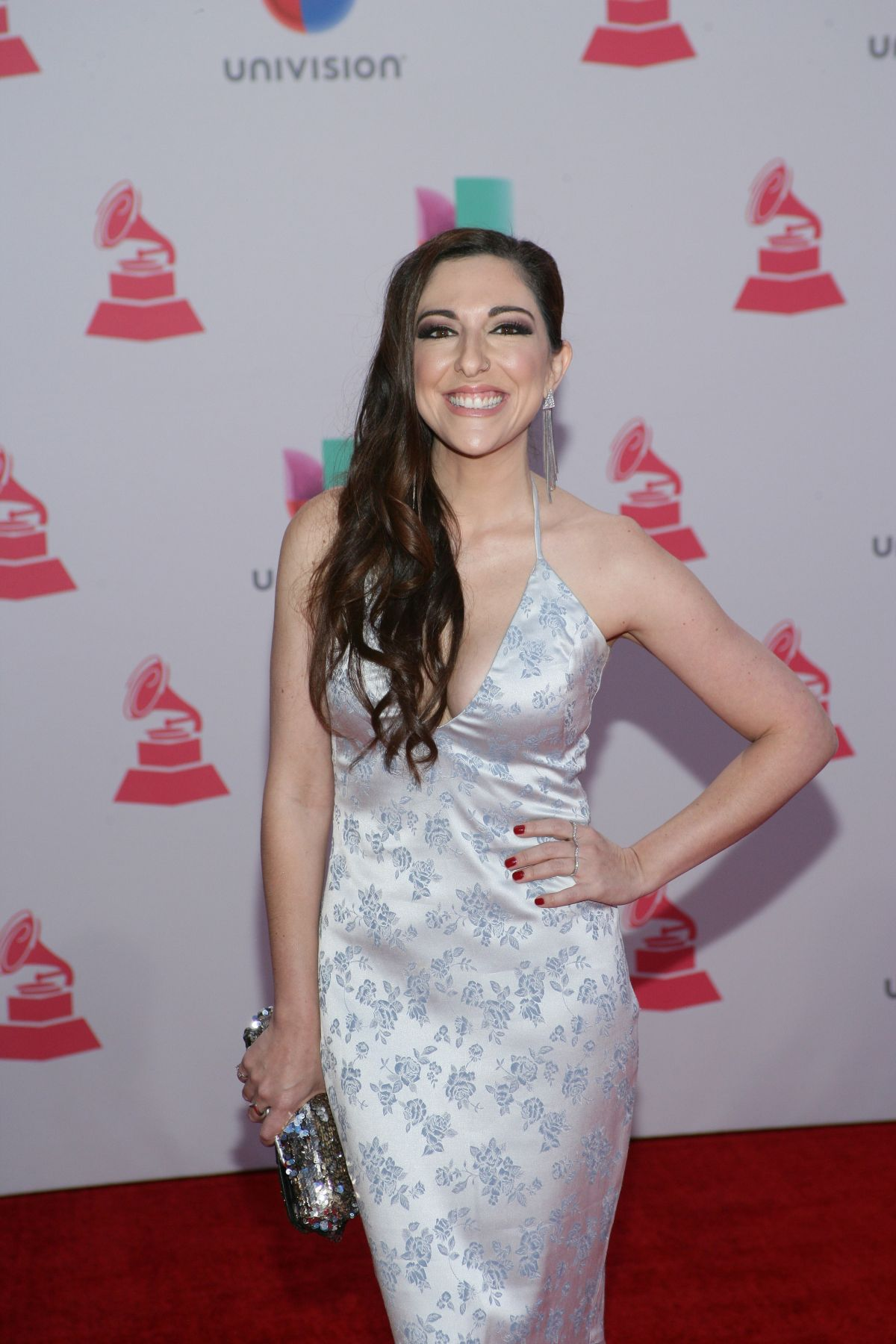 SANDRA CORCUERA at 2015 Latin Grammy Awards in Las Vegas 11/18/2015