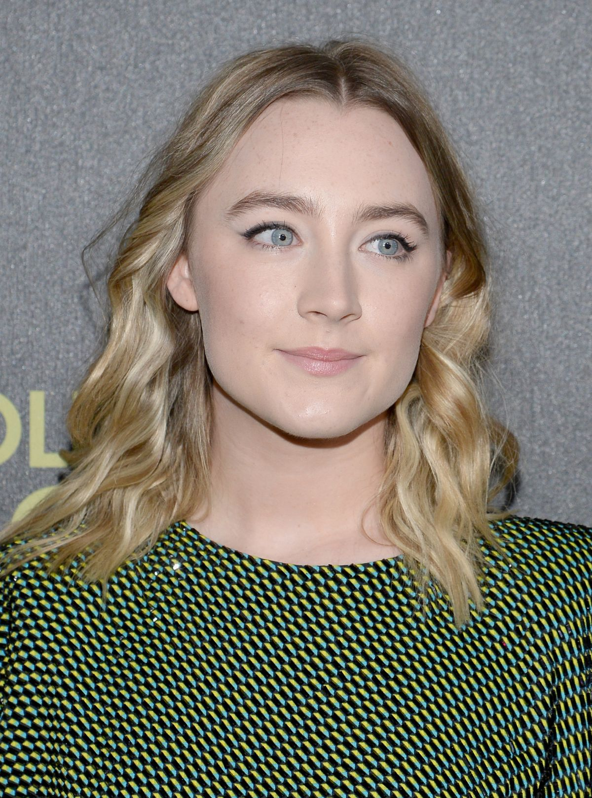 SAOIRSE RONAN at hfpa and Instyle Celebrate 2016 Golden Globe Award Season in West Hollywood 11/17/2015