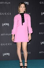 SAOIRSE RONAN at LACMA 2015 Art+Film Gala Honoring James Turrell and Alejandro G Inarritu in Los Angeles 11/07/2015