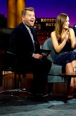 SAOIRSE RONAN, MELISSA BENOIST and OLIVIA WILDE at The Late Late Show with James Corden  11/10/2015