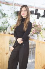 SARA CARBONERO at Agatha by Sara Jewellry Collection Launch in Madrid 11/12/2015