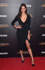 SARA SAMPAIO at The Hunger Games: Mockingjay, Part 2 Premiere in New Yrok 11/18/2015