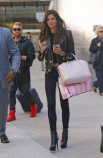 SARA SAMPAIO Out and About in New York 11/04/2015