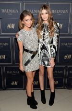 SARAH HYLAND at Balmain x H&M Los Angeles VIP Pre-launch in West Hollywood 11/04/2015