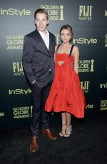 SARAH HYLAND at hfpa and Instyle Celebrate 2016 Golden Globe Award Season in West Hollywood 11/17/2015