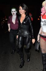 SARAH HYLAND at Just Jared Halloween Party in Hollywood 10/31/2015