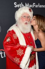 SARAH HYLAND at The Grove Christmas with Seth Macfarlane 11/14/2015