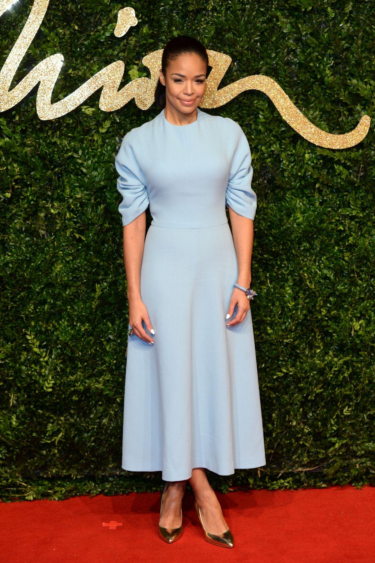 SARAH-JANE CRWFORD at 2015 British Fashion Awards in London 11/23/2015