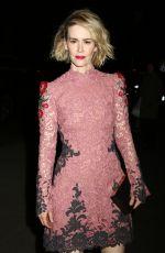 SARAH PAULSON at Museum of Modern Art Film Benefit Honoring Cate Blanchett in New York 11/17/2015