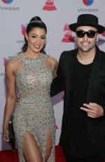 SARODJ BERTIN at 2015 Latin Grammy Awards in Las Vegas 11/18/2015