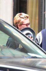 SCARLETT JOHANSSON Shopping at Madison Avenue in New York 11/02/2015