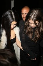 SELENA GOMEZ and HAILEE STEINFELD Leaves The Nice Guy in West Hollywood 11/22/2015