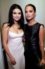 SELENA GOMEZ Arrives at 2015 Hollywood Film Awards in Beverly Hills 11/01/2015