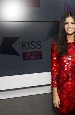 SELENA GOMEZ at Kiss FM Studios in London 11/23/2015