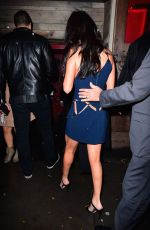 SELENA GOMEZ at Victoria's Secret 2015 Fashion Show After Party in New York 11/10/2015
