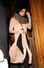 SELENA GOMEZ Leaves Kendall Jenner's 20th Birthday Party at The Nice Guy in West Hollywood 11/03/2015