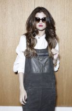 SELENA GOMEZ on the Set of a New Photoshoot