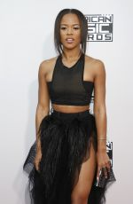 SERAYAH MCNEILL at 2015 American Music Awards in Los Angeles 11/22/2015