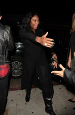 SERENA WILLIAMS at at The Nice Guy in West Hollywood 11/18/2015