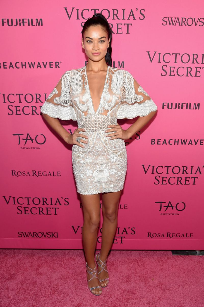 SHANINA SHAIK at Victoria's Secret 2015 Fashion Show After Party 11/10/2015