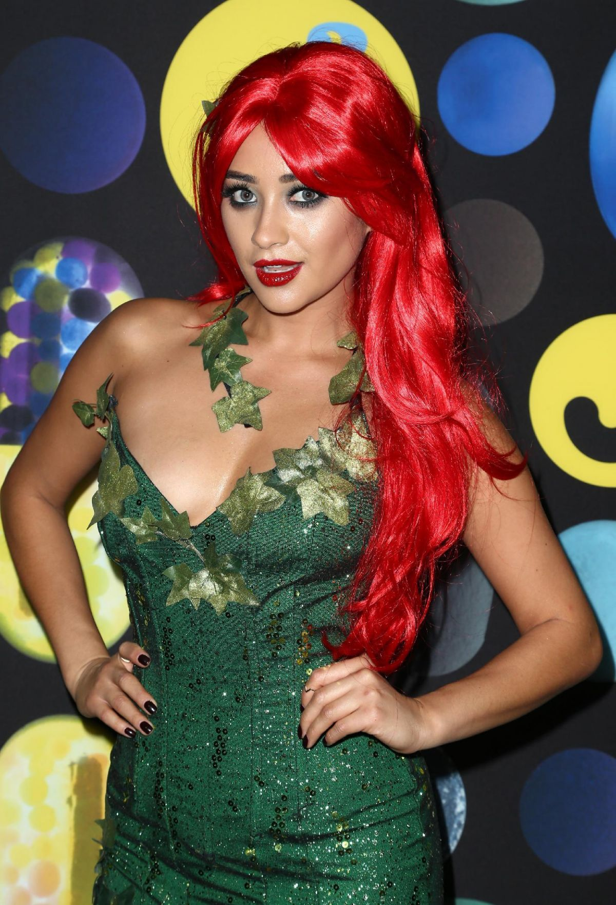 shay mitchell at just jared halloween party in hollywood 10312015 - Halloween Parties In Hollywood