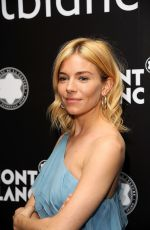 SIENNA MILLER at 24th Montblanc De La Culture Arts Patronage Award Honoring Peter M. Brant in New York 11/10/2015