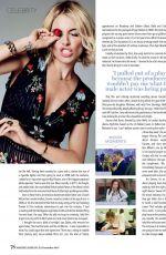 SIENNA MILLER in Marie Claire Magazine, December 2015 Issue