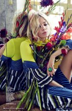 SIENNA MILLER in Marie Claire Magazine, October 2015 Issue