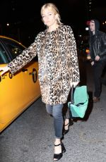 SIENNA MILLER Night Out in New York 11/13/2015