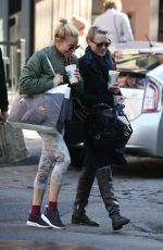 SIENNA MILLER Out and About in New York 11/15/2015