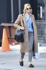 SIENNA MILLER Out and About in Soho 11/09/2015