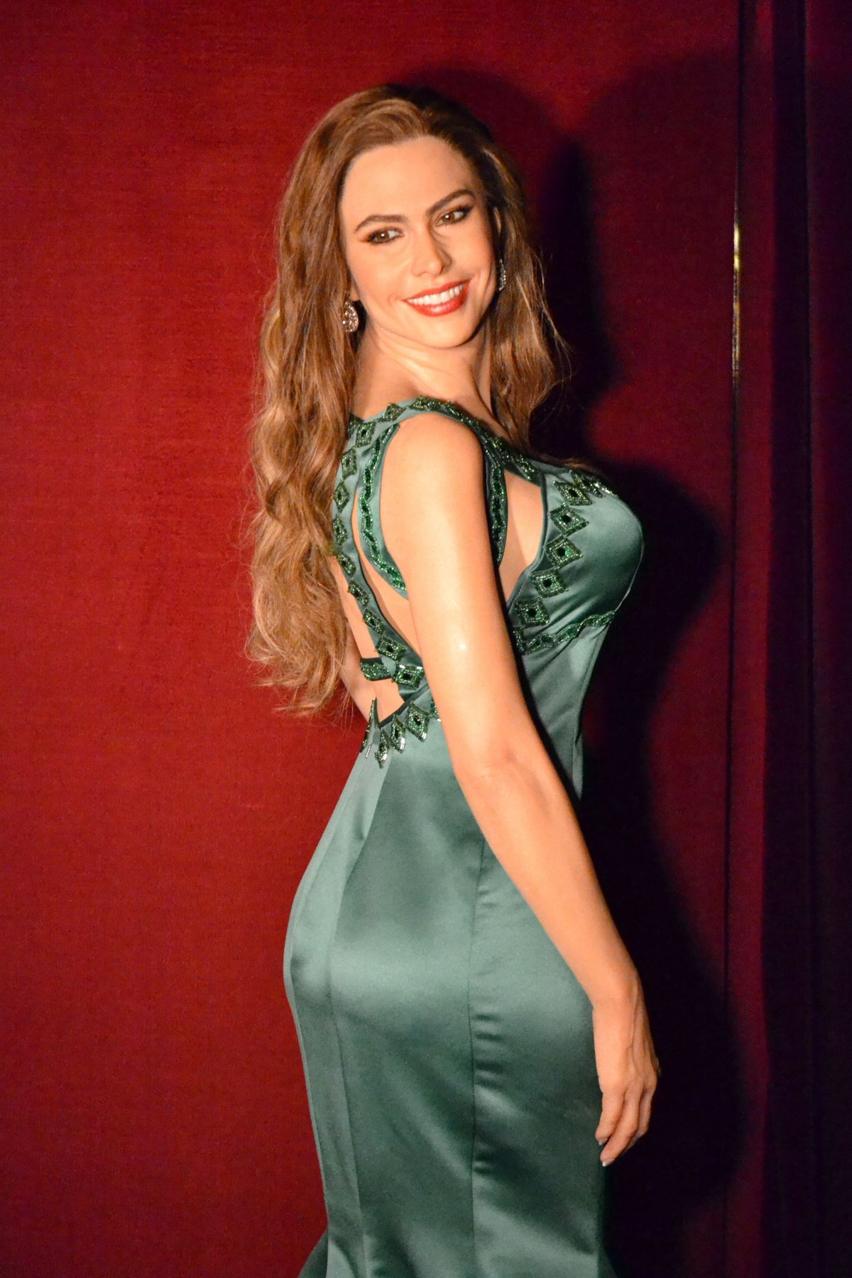 SOFIA VERGARA in Madrid Wax Museum 11/17/2015