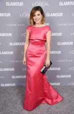 SOPHIA BUSH at Glamour's 25th Anniversary Women of the Year Awards in New York 11/09/2015