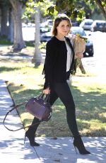 SOPHIA BUSH Out and About in Los Angeles 11/21/2015