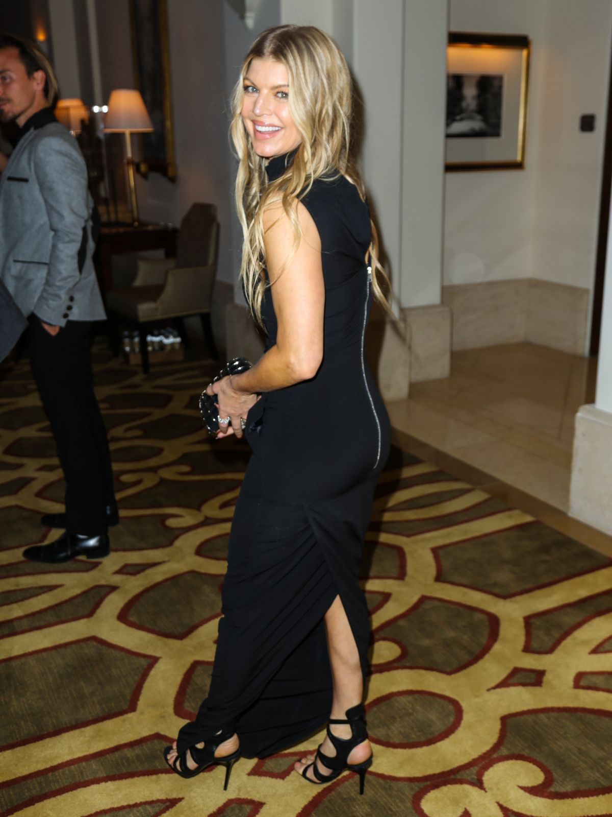 STACY FERGIE FERGUSON at Montage Hotel in Los Angeles 11/07/2015