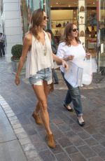 STACY KIEBLER un Cut off Out Shopping in West Hollywood 11/21/2015