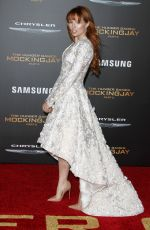 STEF DAWSON at The Hunger Games: Mockingjay, Part 2 Premiere in Los Angeles 11/16/2015
