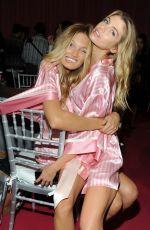 STELLA MAXWELL at Victoria's Secret 2015 Fashion Show Backstage 11/10/2015