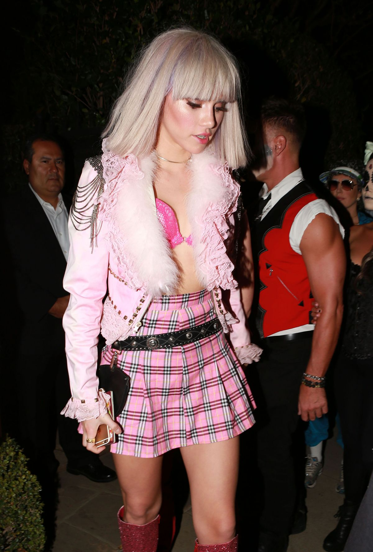 SUKI WATERHOUSE at Casamigos Halloween Party 10/30/2015