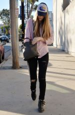 TAISSA FARMIGA Out for Lunch in West Hollywood 11/19/2015