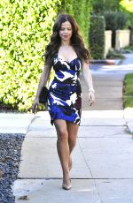 TAMMIN SURSOK Out and About in Los Angeles 11/09/2015