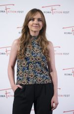 TARA LYNNE BARR at 9th Roma Fiction Fest: Casual Photocall in Rome 11/13/2015