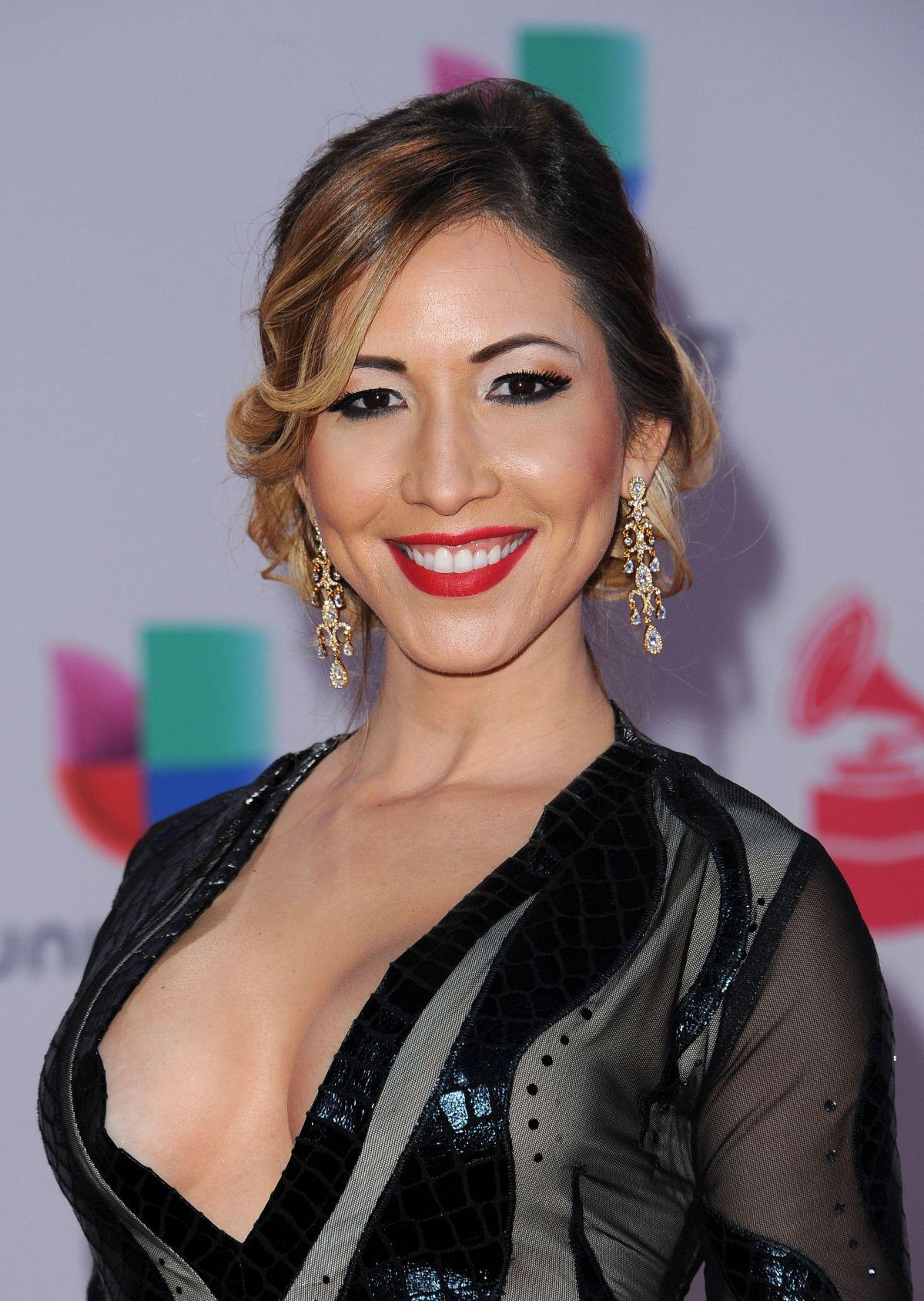 TATIANA LIARY at 2015 Latin Grammy Awards in Las Vegas 11/18/2015