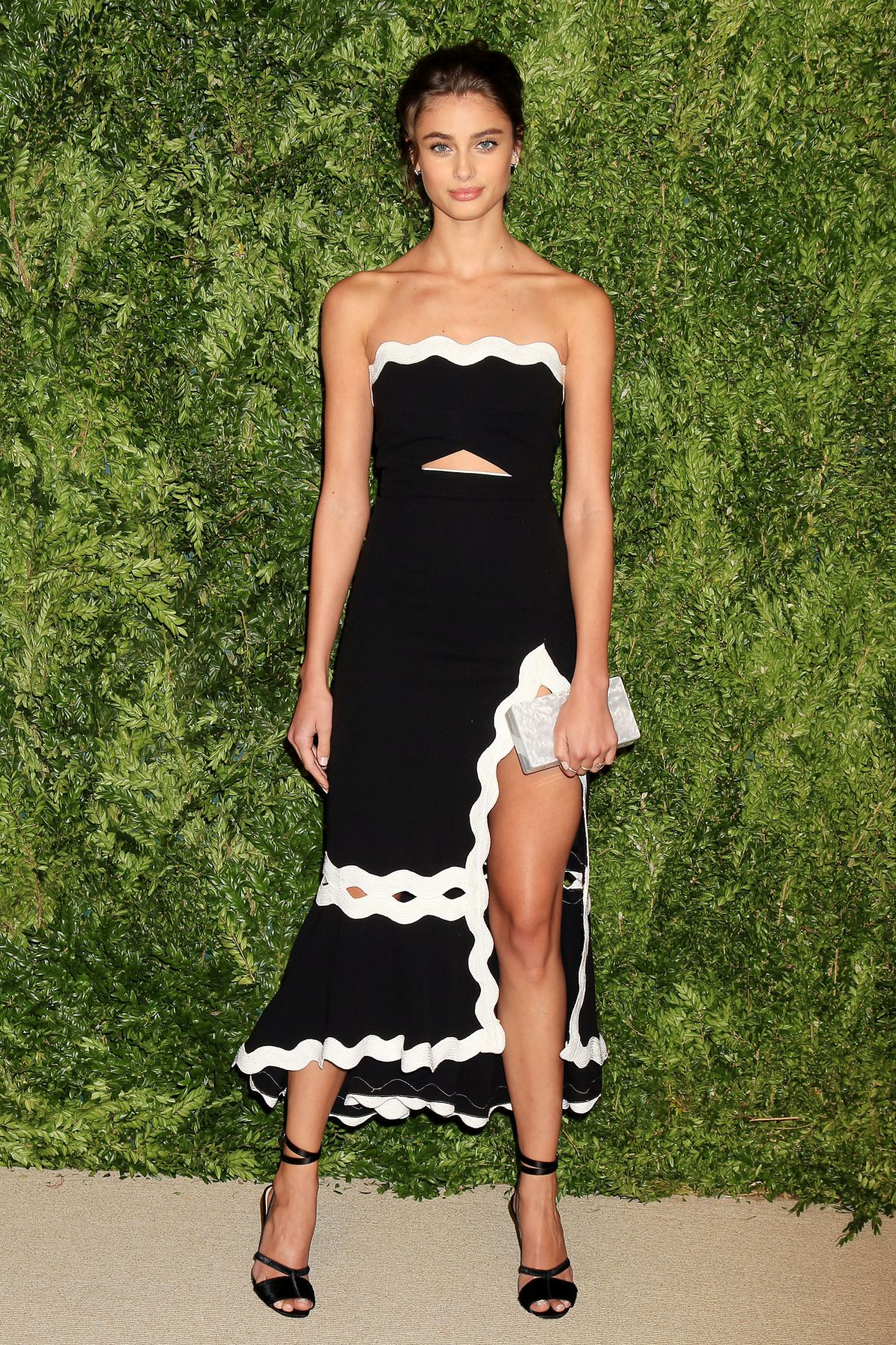TAYLOR HILL at 12th Annual CFDA/Vogue Fashion Fund Awards in New York 11/02/2015