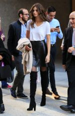 TAYLOR HILL Out and About in New York 11/05/2015