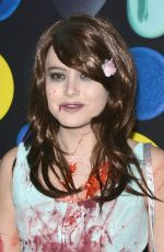 TAYLOR SPREITLER at Just Jared Halloween Party in Hollywood 10/31/2015