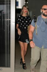 TAYLOR SWIFT at LAX Airport in Los Angeles 11/13/2015