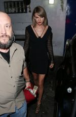 TAYLOR SWIFT Leaves The Little Door Restaurant in Los Angeles 11/02/2015